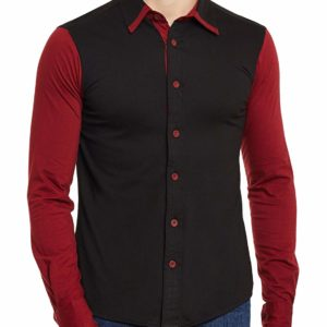 black red shirt