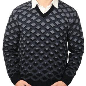 checks sweater